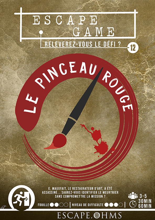Escape Game Nantes Le Pinceau Rouge