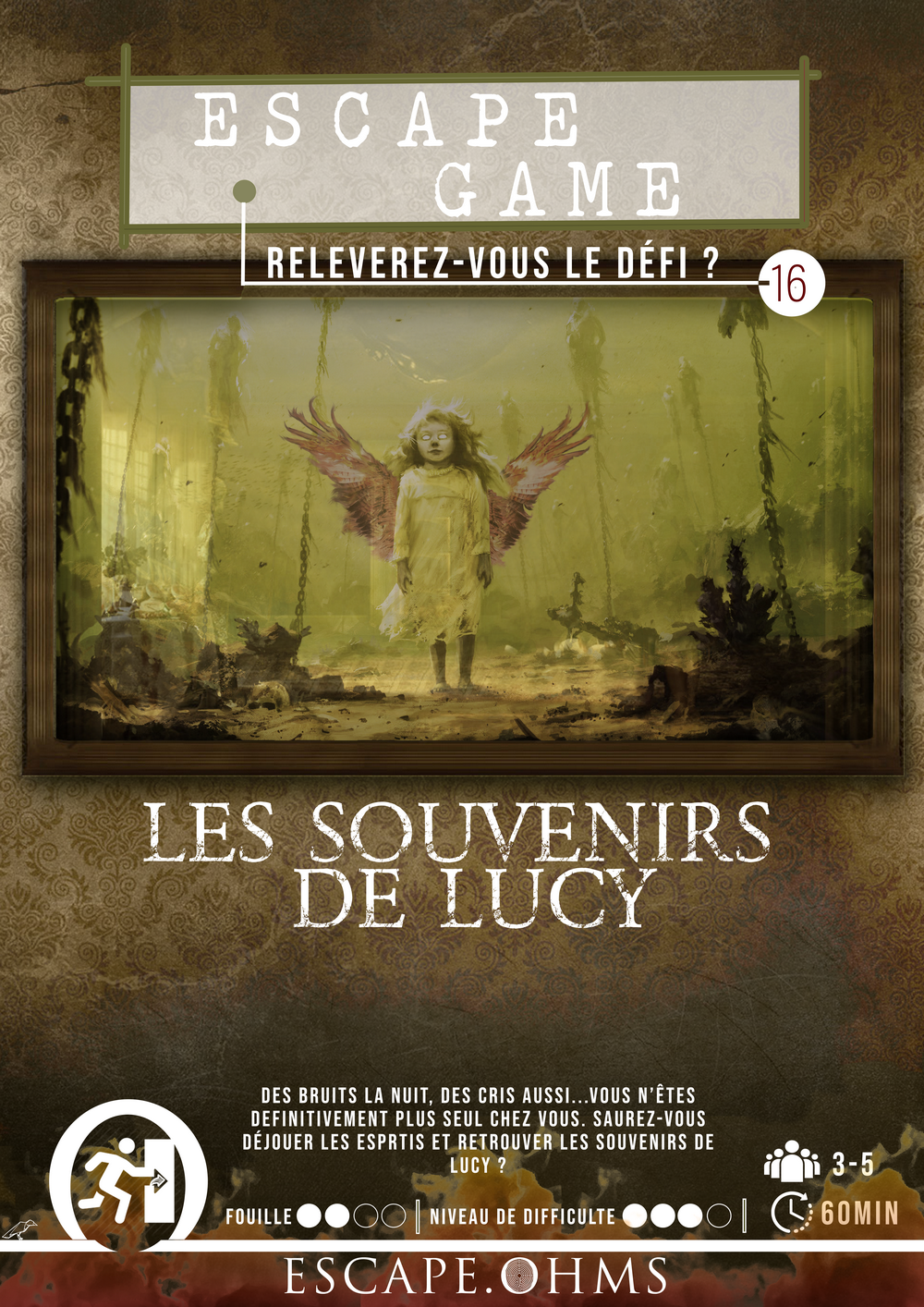 Escape Game Nantes Les souvenirs de Lucy